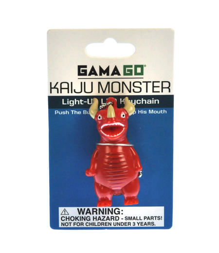 Kaiju Monster - Light Up LED Keychain