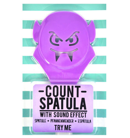 Count Spatula - Vampire Stirring Utensil with Dracula Evil Laugh Sound Effect