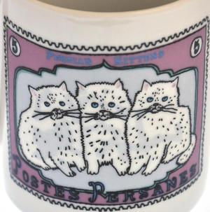 Per Siamese - 1st Class Mug - Magpie Mug by Charlotte Farmer - Persian Kittens & Thailand Cat Thumbnail 5