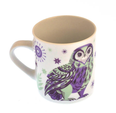 Owl - Wildwood Mug - Magpie Mug by Sarah Young