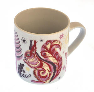Squirrel - Wildwood Mug - Magpie Mug by Sarah Young Thumbnail 1