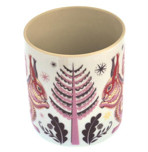 Squirrel - Wildwood Mug - Magpie Mug by Sarah Young Thumbnail 4