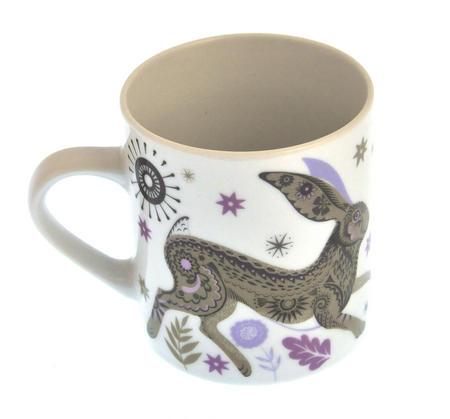 Rabbit - Wildwood Mug - Magpie Mug by Sarah Young