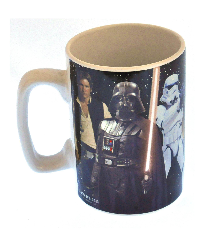 star wars sound mug feel the force pink cat shop. Black Bedroom Furniture Sets. Home Design Ideas