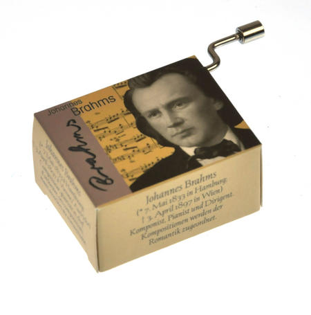 Johannes Brahms - Lullaby / Berceuse / Wiegenlied Music Box