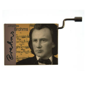 Johannes Brahms - Lullaby / Berceuse / Wiegenlied Music Box Thumbnail 6