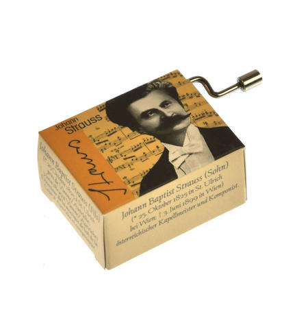 Johann Strauss - Blue Danube / Donauwalzer Music Box