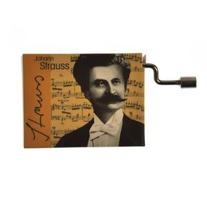 Johann Strauss - Blue Danube / Donauwalzer Music Box Thumbnail 7