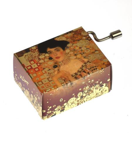 "Art Music Box - Gustav Klimt ""Adele Bloch Bauer"" & Theme from Papillion ""Free as the Wind"" / ""Toi qui regardes la mer"""