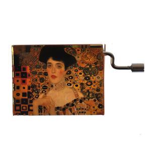 "Art Music Box - Gustav Klimt ""Adele Bloch Bauer"" & Theme from Papillion ""Free as the Wind"" / ""Toi qui regardes la mer"" Thumbnail 2"