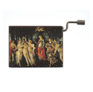 "Art Music Box - Botticelli ""Primavera"" & Beethoven ""Song of Joy"" Thumbnail 1"