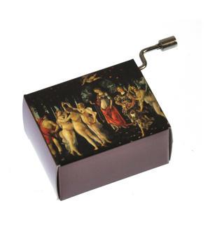 "Art Music Box - Botticelli ""Primavera"" & Beethoven ""Song of Joy"" Thumbnail 2"