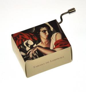 "Art Music Box - Tamara de Lempika ""Portrait of Ira P."" & Beethoven ""Für Elise"" / ""For Elise"""