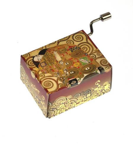 "Art Music Box - Gustav Klimt ""Erfüllung / Fulfilment"" & Beethoven ""Für Elise"" / ""For Elise"""