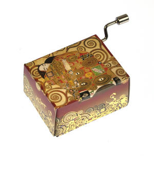 "Art Music Box - Gustav Klimt ""Erfüllung / Fulfilment"" & Beethoven ""Für Elise"" / ""For Elise"" Thumbnail 1"