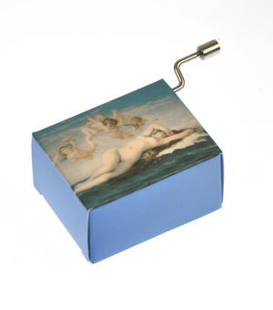 "Art Music Box - Cabanel ""Birth of Venus"" & Debussy ""Arabesque"" Thumbnail 7"