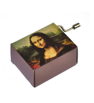 "Art Music Box - Leonardo Da Vinci ""Mona Lisa"" & Beethoven ""Für Elise"" / ""For Elise"" Thumbnail 7"