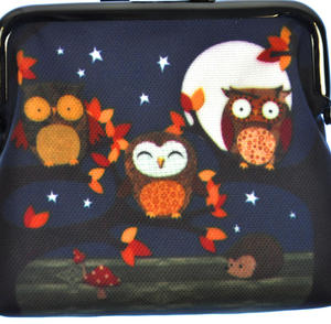Night Owls Clasp Purse Thumbnail 2