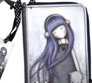 Dear Alice - Zip Wallet By Gorjuss Thumbnail 2