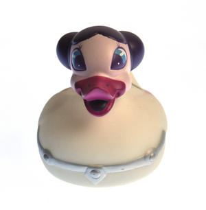 Colour Changing LED Rubber Duck - Princess Leia - May the Feathers Be With You Thumbnail 1