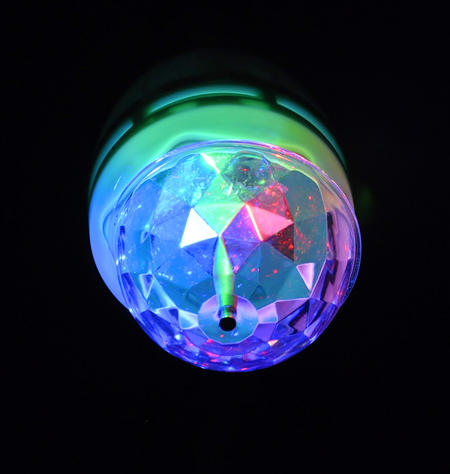 Kaleidoscope Party Bulb - Instant Party Rotating Disco Bulb