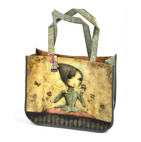 If Only - Woven Shopper Bag By Mirabelle