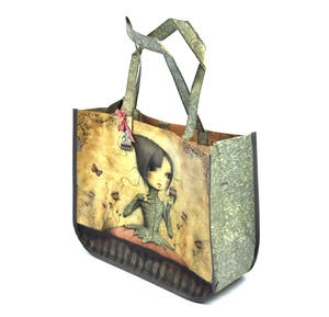 If Only - Woven Shopper Bag By Mirabelle Thumbnail 2