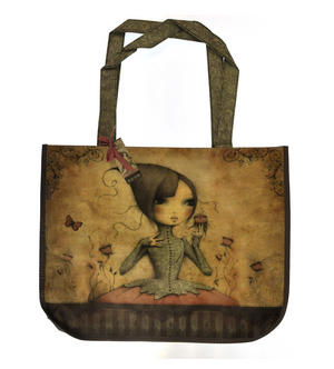 If Only - Woven Shopper Bag By Mirabelle Thumbnail 3