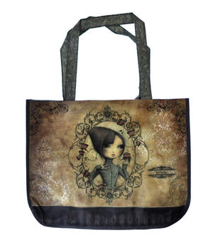 If Only - Woven Shopper Bag By Mirabelle Thumbnail 5