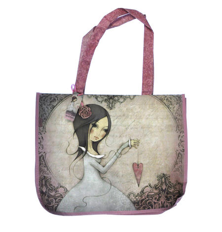 All For Love - Woven Shopper Bag By Mirabelle
