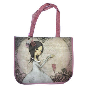 All For Love - Woven Shopper Bag By Mirabelle Thumbnail 1