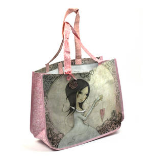 All For Love - Woven Shopper Bag By Mirabelle Thumbnail 7