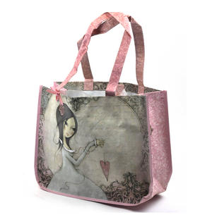 All For Love - Woven Shopper Bag By Mirabelle Thumbnail 8