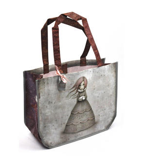 Travellers Rest - Woven Shopper Bag By Gorjuss Thumbnail 1