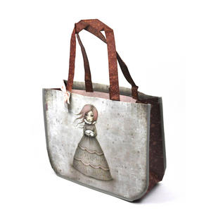 Travellers Rest - Woven Shopper Bag By Gorjuss Thumbnail 4