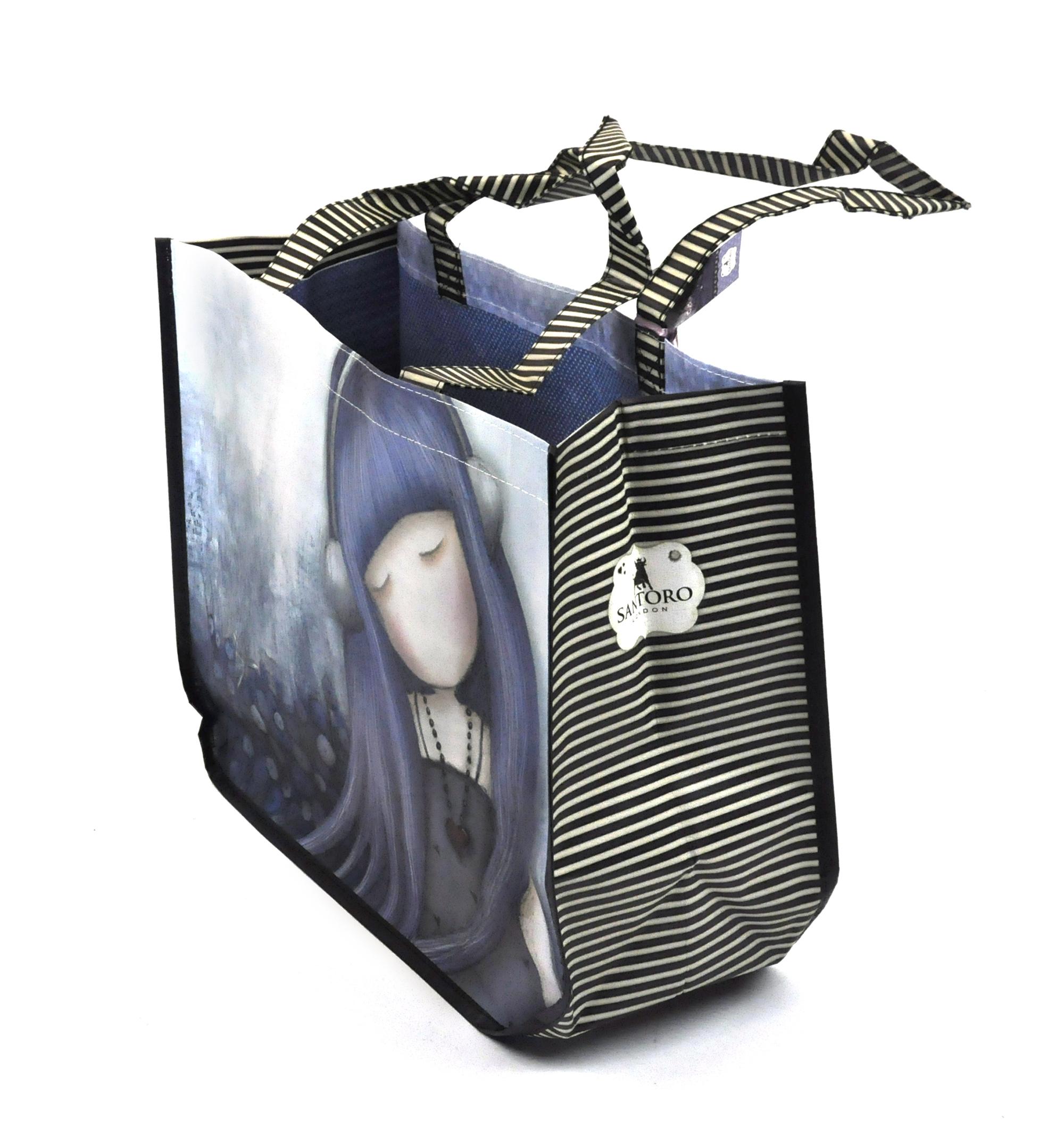 Dear Alice Gorjuss by Santoro Large Woven Shopper with purse by Gorjuss