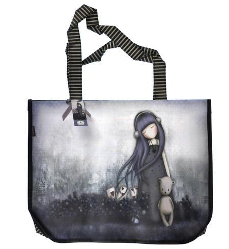 Dear Alice - Woven Shopper Bag By Gorjuss