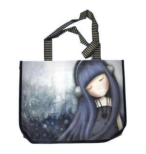 Dear Alice - Woven Shopper Bag By Gorjuss Thumbnail 5