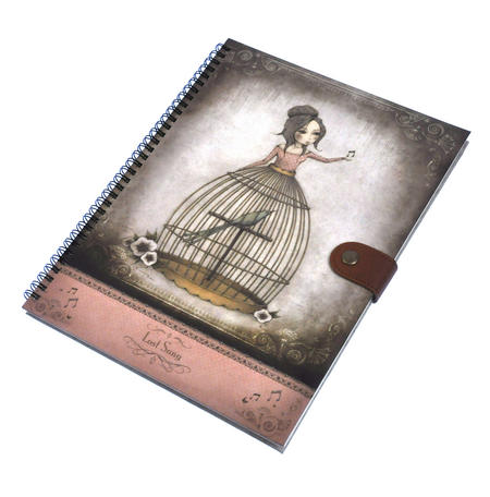Lost Song - Large Spiral-Bound Journal by Mirabelle