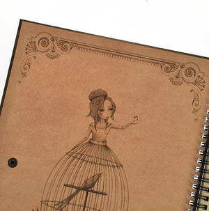 Lost Song - Large Spiral-Bound Journal by Mirabelle Thumbnail 5