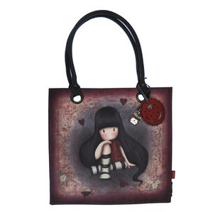 The Collector - Large Coated Shopper Bag By Gorjuss Thumbnail 1