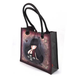 The Collector - Large Coated Shopper Bag By Gorjuss Thumbnail 2