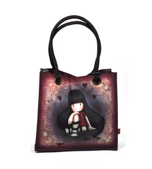 The Collector - Large Coated Shopper Bag By Gorjuss Thumbnail 3