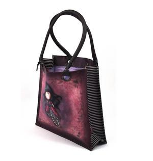 Ladybird - Large Coated Shopper Bag By Gorjuss Thumbnail 3