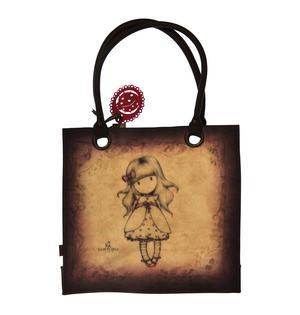 Ladybird - Large Coated Shopper Bag By Gorjuss Thumbnail 8