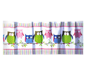 Owls Shower Curtain 180 x 180 cm Thumbnail 1