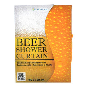 Beer Shower Curtain 180 x 180 cm Thumbnail 1