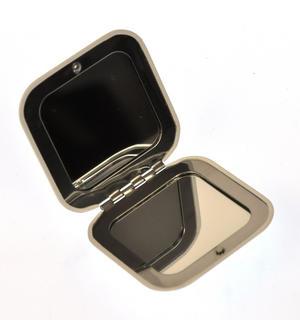 Pug - Square Compact Handbag Mirror Thumbnail 2
