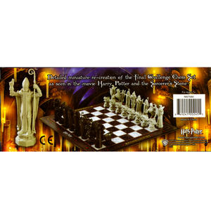 Harry Potter 32 Piece Wizard Chess Set Thumbnail 3