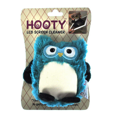Turquoise Hooty LCD Screen Cleaner